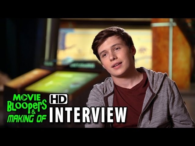 Jurassic World (2015) Behind the Scenes Movie Interview - Nick Robinson 'Zach'