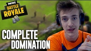 Complete Domination - Fortnite Battle Royale Highlights - Ninja