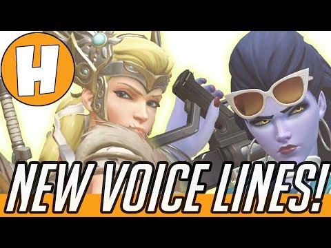 Overwatch - NEW Mercy Update Voice Lines + Widowmaker, Junkrat! | Hammeh