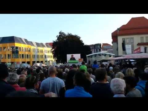 Angela Merkel in Bautzen 21.08.2014