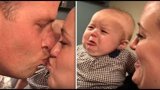 Latest adorable, funny and cute baby gets Jealous of Dad compilation 2019 - Part 1