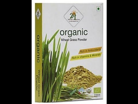 review : Organic Wheat Grass powder by 24 LETTER MANTRA - BangaloreBengaluru