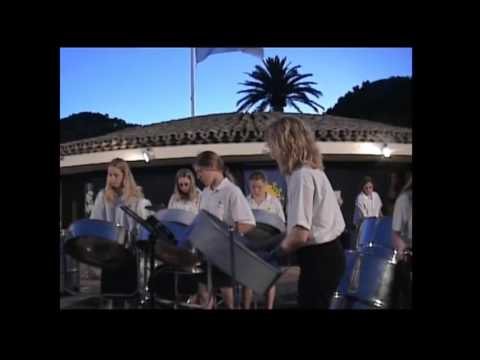 Pansands Allstars Steel Band - South of France Tour - French Anthem