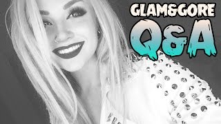 Answering your questions! Glam&Gore Q&A