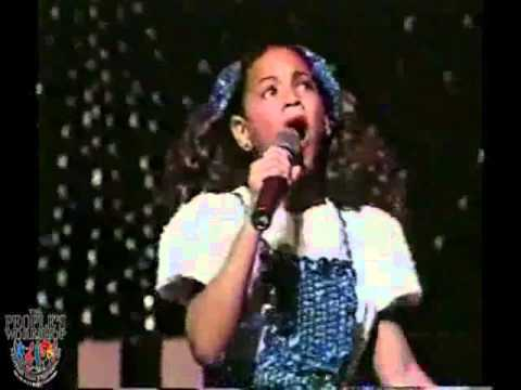 Young Beyonce Knowles at PW Awards