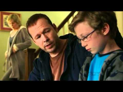 Blue Bloods Danny Reagan (Donnie Wahlberg) teaching his kid some gun safety.
