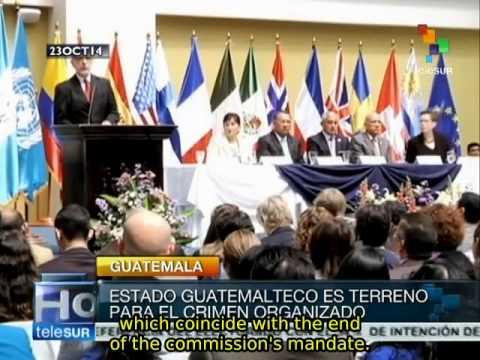 Guatemala: UN Impunity Commission to act against organized crime