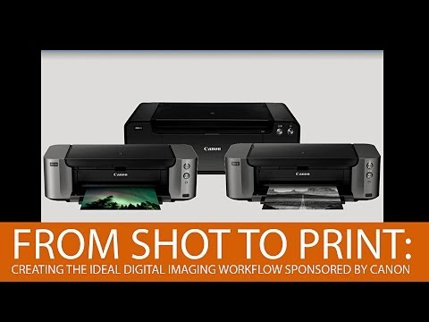 From Shot to Print: Creating the Ideal Digital Imaging Workflow