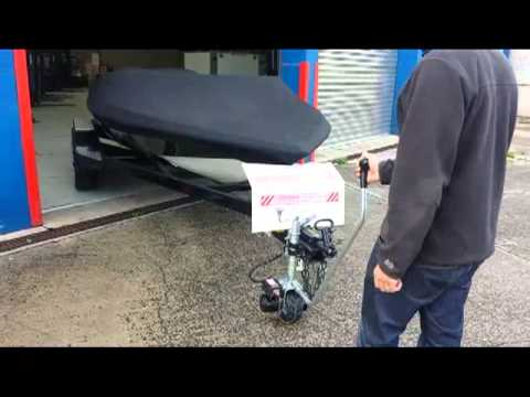 MOTORISED JOCKEY WHEEL, MINI MOVER - YouTube