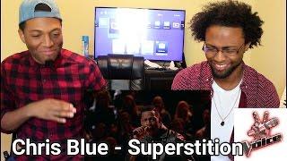 "Download Lagu The Voice 2017 Knockout - Chris Blue: ""Superstition"" (REACTION) Gratis STAFABAND"