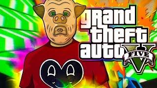 "GTA 5 Funny Moments! - ""Eating SPUNK!"" (Cunning Stunts DLC!)"
