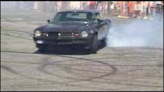 Dodge Charger, Buick GS and Chevrolet Camaro Burnout