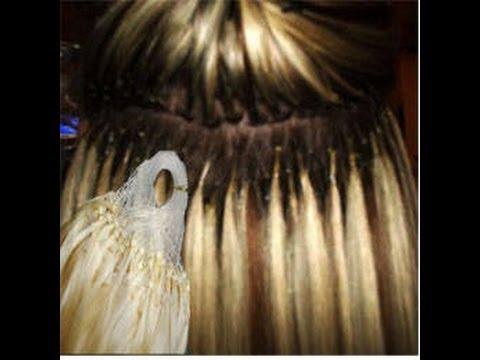 D I Y Micro Loop Hair Extensions Giveaway Youtube