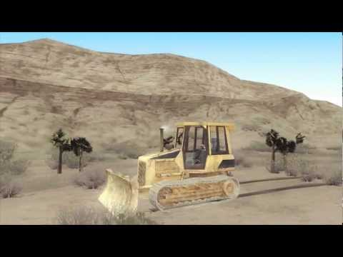 Bulldozer from COD 4 MW