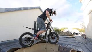 trials electric bike extreme Chris Northove and oset project