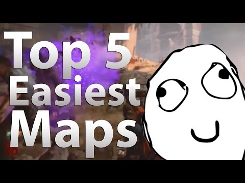 'TOP 5' Easiest Maps in 'Call of Duty Zombies' -