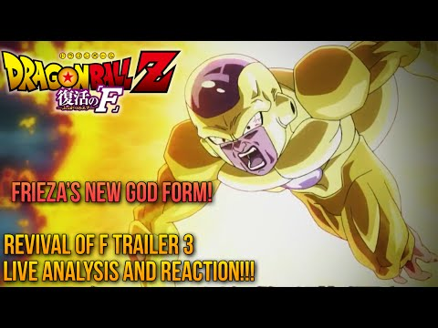 DRAGONBALL Z: Revival Of 'F' (2015) Revival Of F Trailer #3 Review! + God Vegeta? & More 復活の「F」