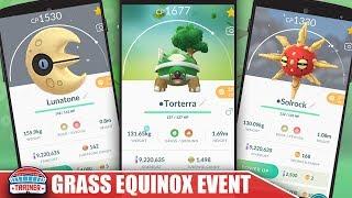 TOP TIPS TO MAX GRASS EQUINOX EVENT - NEW RARE SHINIES + GRASS RAID BOSSES | POKEMON GO