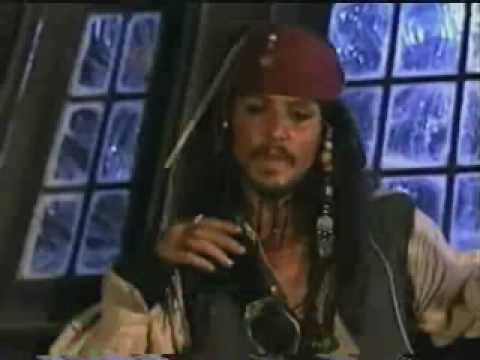Pirates Of The Caribbean Making Of - Johnny Depp Interview 3 video