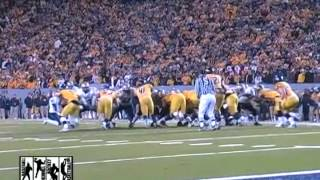 Pittsburgh Panthers West Virginia Mountaineers Backyard Brawl 2007