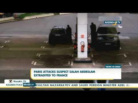 Paris attacks suspect Salah Abdeslam extradited to France - Kazakh TV