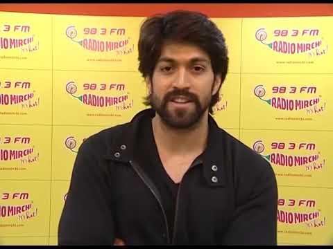 "Exclusive Googly Interview - Rocking Star "" Yash"" and Pavan Wadeyar at the Radio Mirchi Studio"