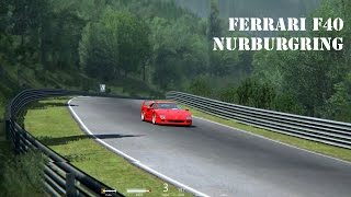 Assetto Corsa Ferrari F40 Nordschleife - Nurburgring with replay on Ultra settings