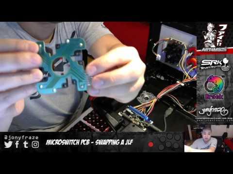 Fightstick Fix - Replacing a Sanwa JLF Microswitch PCB