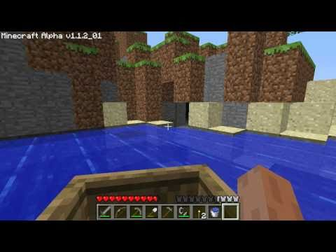 Here how to make a fishing boat in minecraft pe easy build for How to fish in minecraft pe