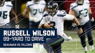 Russell Wilson Leads 89-Yard Opening Drive TD!   Seahawks vs. Falcons   NFL Divisional Highlights