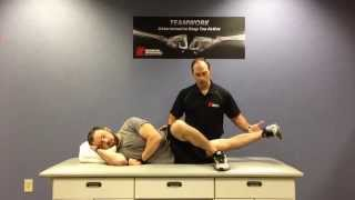 Greensboro Orthopaedics: Hip Adduction with Chad Parker, PT, MPT, LAT, ATC, CSCS