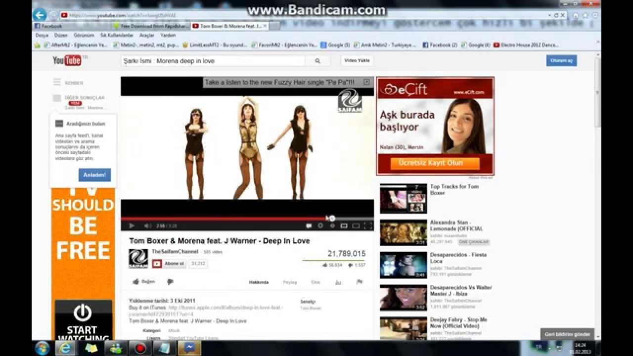 Youtube ' video indirme programsız - YouTube