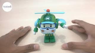 Robocar Helly Poli Unboxing & Transformation | ToysMovie