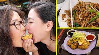 Tiong Bahru Market Tour ♦ Char Kway Teow & Tow Kwar Pop