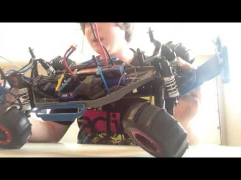 Traxxas slash 4x4 2013 Winter Setup