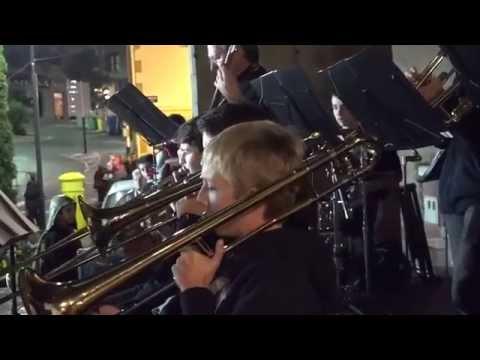 Musika Eskolako banda Santa Zezilian. 2014 azaroa