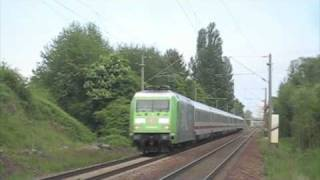"German Fifa Worldcup Loco ""Fan Connection"" with Intercity/ 101-040 mit IC"