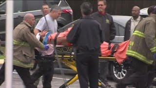 RAW VIDEO: Suspect wheeled out on stretcher following SWAT situation in New Port Richey