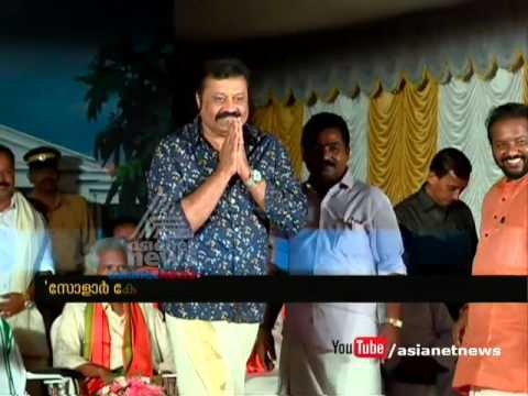 Suresh Gopi's campaign for BJP | Assembly Election 2016 #keralapolls2016