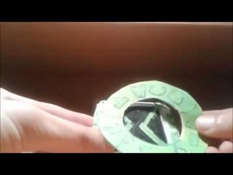 Часы из бумаги видео