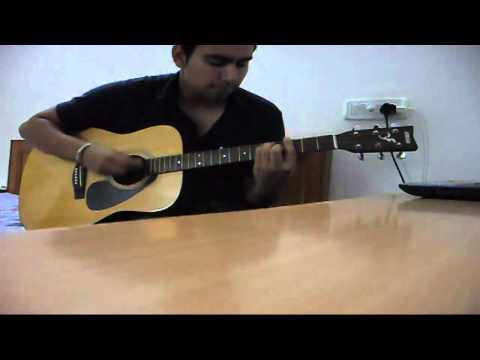 Haye Mera Dil - Alfaaz Feat Honey Singh (guitar Cover) video