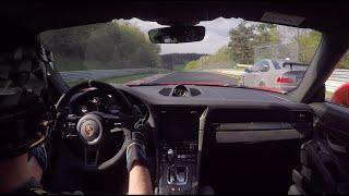 "7:20""BTG GT3RS lap with ApexTaxi Schirmer M3GT & Captain Gaskrank M3 E46 tracktool//."