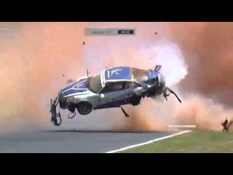 Pedro Piquet hard crash in Porsche GT3 Cup