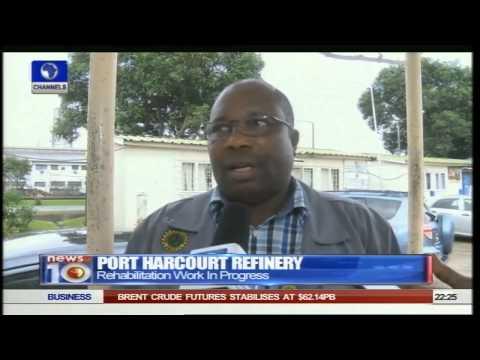 News@10: Port Harcourt Refinery: Rehabilitation Work In Progress 04/07/15 Pt.  2