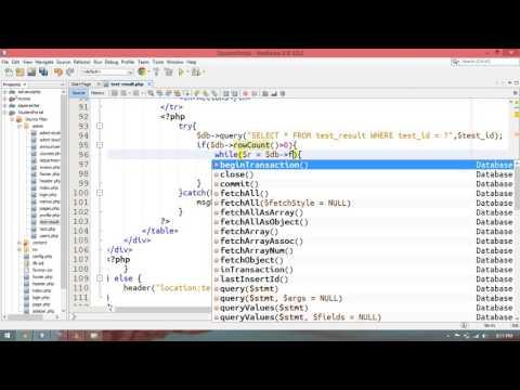 32 – Student Portal in PHP/MySQL (Pashto)
