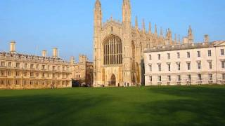 King's College Cambridge Psalm 121 I will lift up mine Eyes (Walford Davies)