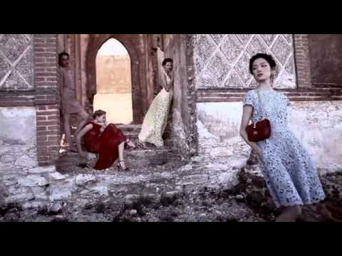 Valentino Spring Summer 2012 AD Campaign by Deborah Turbeville (The making of)