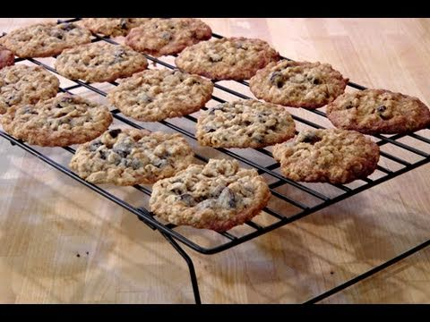 How to Make Homemade Oatmeal Raisin Cookies - Recipe by Laura Vitale Laura In The Kitchen Episode 69