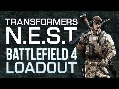 Battlefield 4 (BF4) ACW-R Loadout : Transformers N.E.S.T Soldier