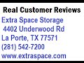 Extra Space Storage - REVIEWS - La Porte, TX  Self Storage Facilities Reviews